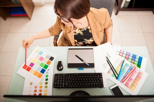 Using a Graphic Designer for Your Trade Show Display