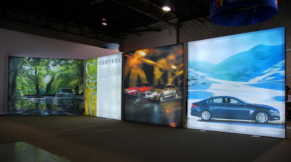 Fabric Led Light Boxes Vizual Tek Displays