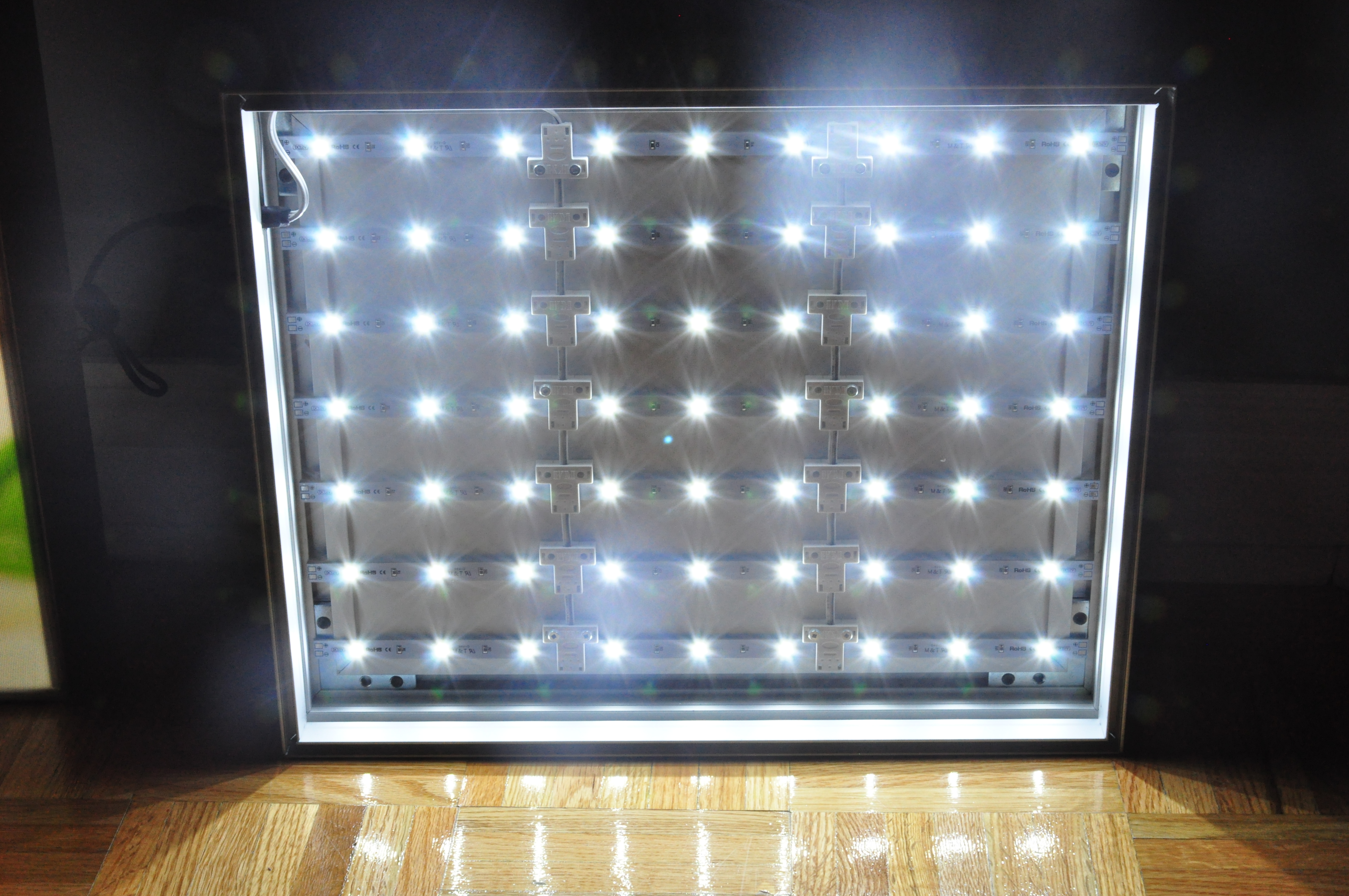 fabric led light boxes vizual tek displays. Black Bedroom Furniture Sets. Home Design Ideas